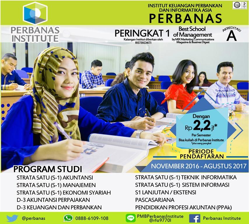 Info Penerimaan Mahasiswa Baru 2017