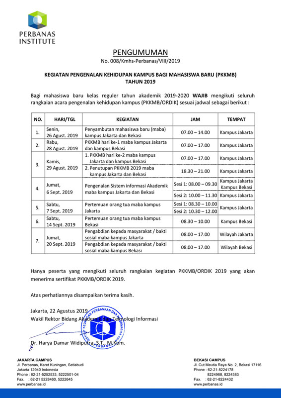 PENGUMUMAN-JADWAL-PKKMB-ORDIK-2019-1