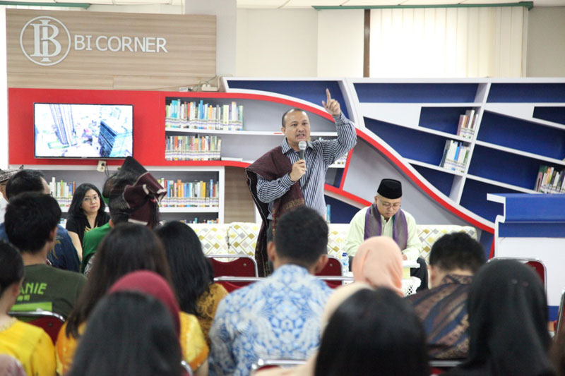 "LEARNING SHARING SESSION ""MENGASAH EMAS, INDONESIA CERDAS"""