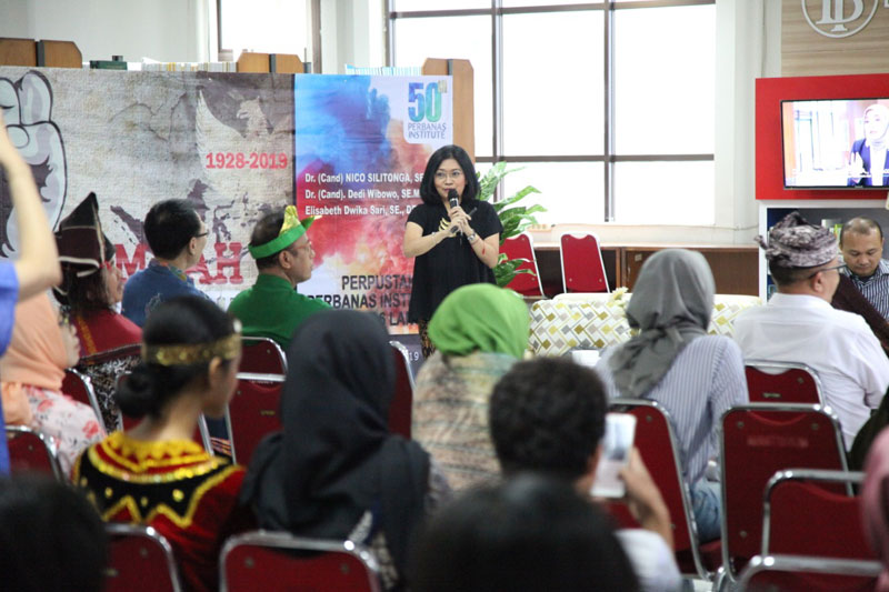"Learning Sharing Session ""Mengasah Emas, Indonesia Cerdas"""
