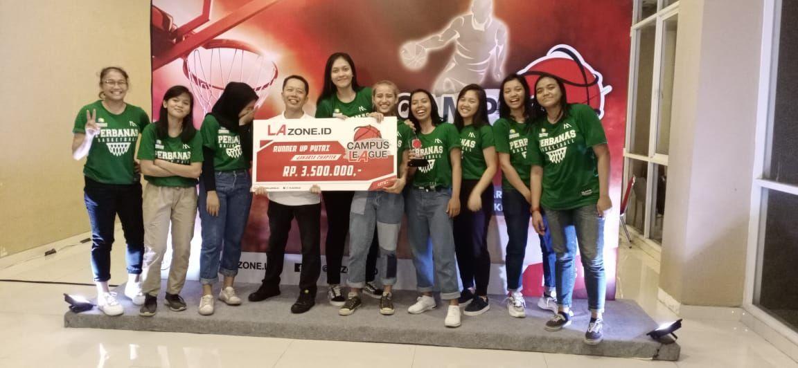 JUARA 2 BASKETBALL CAMPUS LEAGUE 2020 JAKARTA CHAPTER