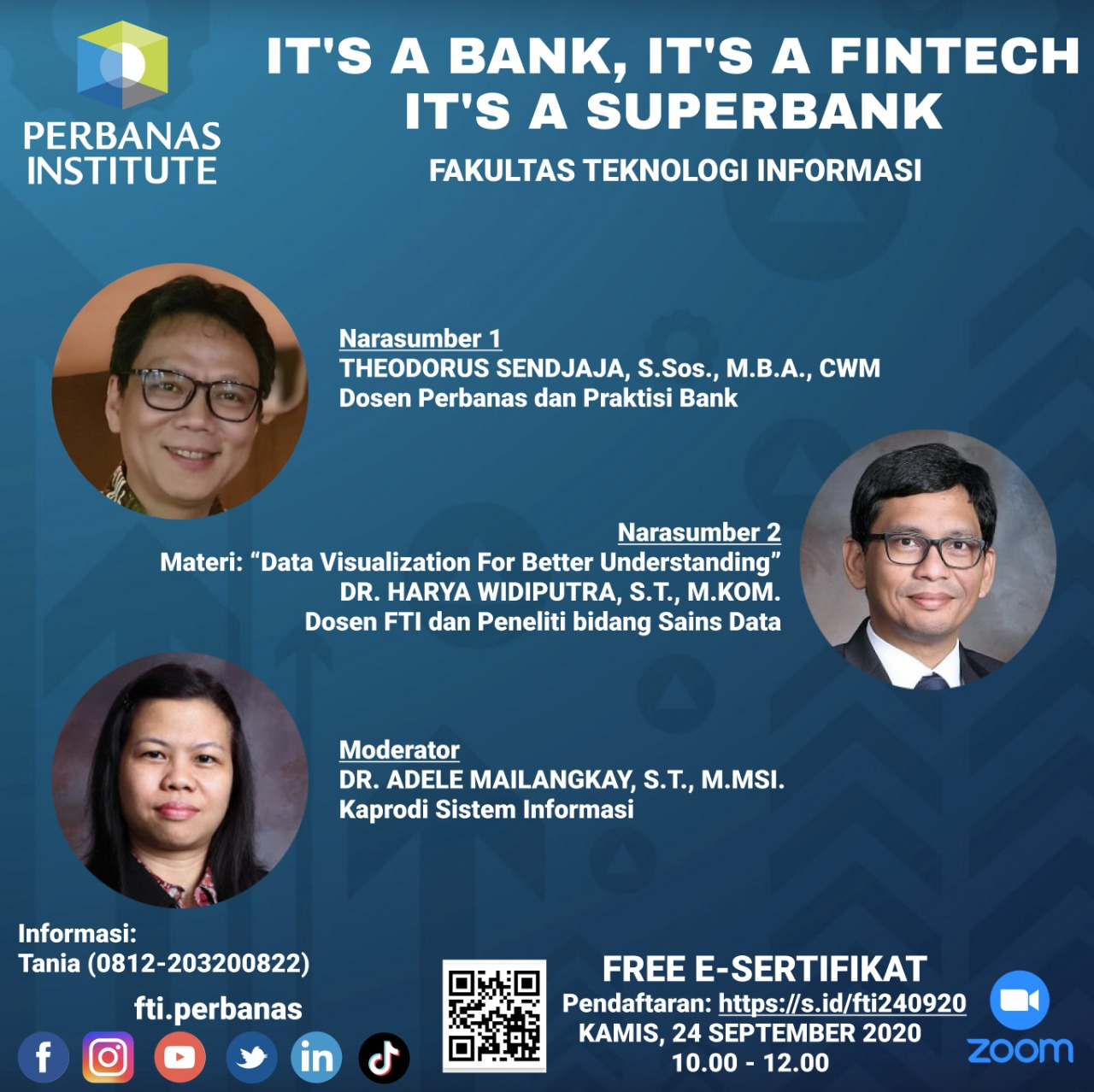Webinar FTI Perbanas Institute